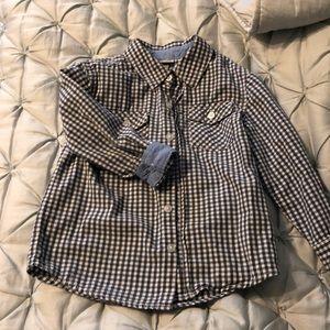 Boys button down shirt size 4